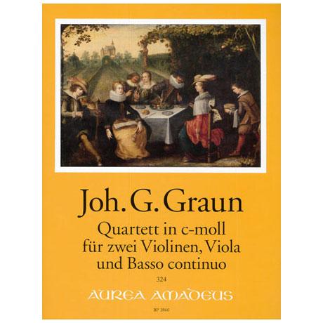 Graun, Joh. G.: Quartett c-Moll