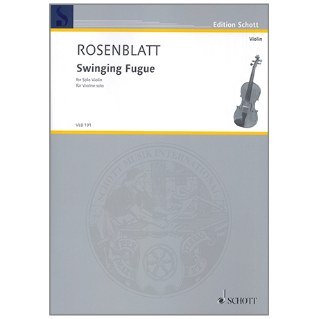 Rosenblatt, A.: Swinging Fugue