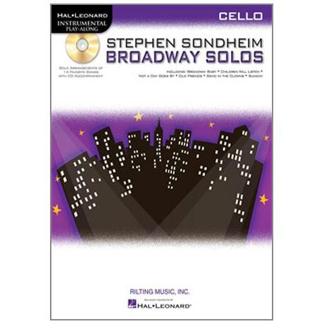 Sondheim, S.: Broadway Solos (+CD)