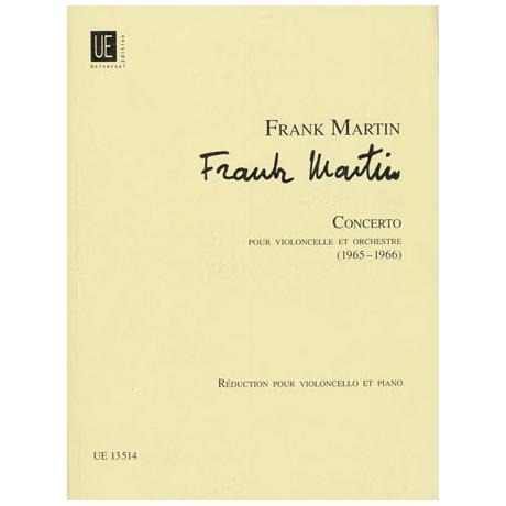 Martin, F.: Violoncellokonzert
