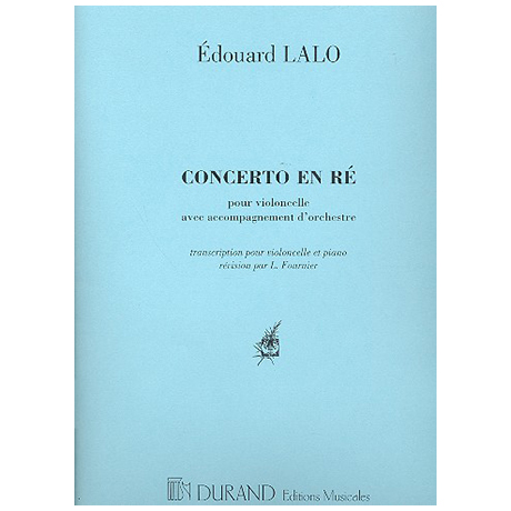 Lalo, E.: Concerto d-moll