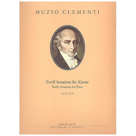 Clementi, M.: Sonatinen Op. 36, 37, 38