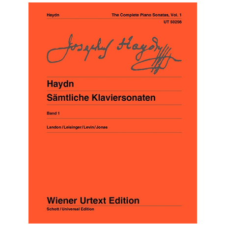 Haydn, J.: Sämtliche Klaviersonaten Band 1