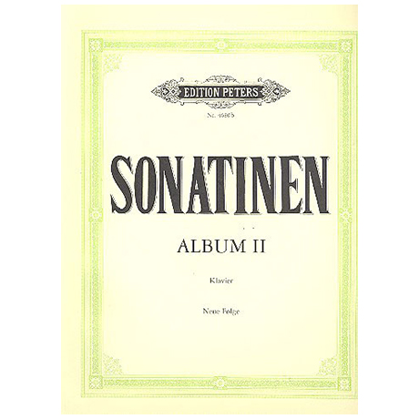 Sonatinen-Album, Neue Folge (Volger) Band II