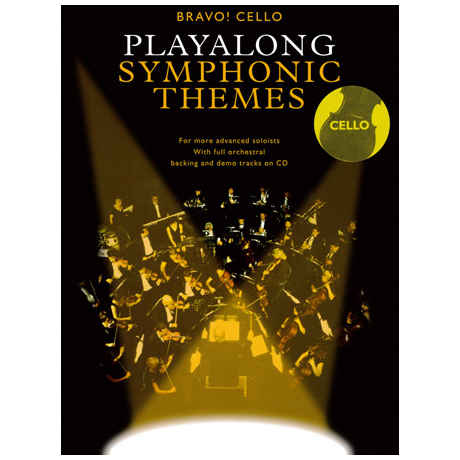 Bravo! Cello - Playalong Symphonic Themes (+CD)