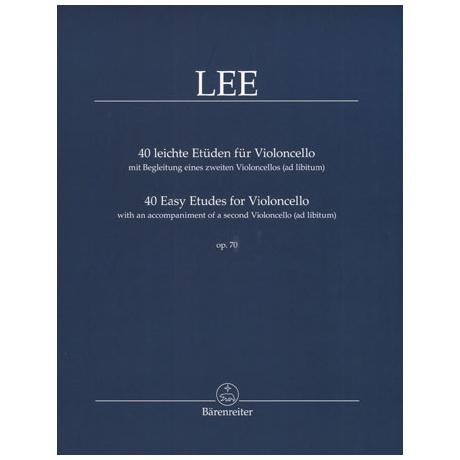 Lee, S.: 40 leichte Etüden Op. 70