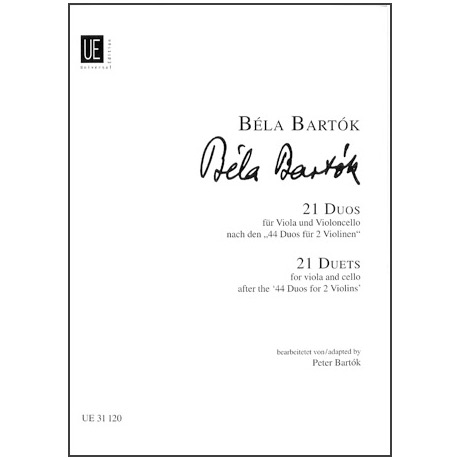 Bartók, B.: 21 Duos
