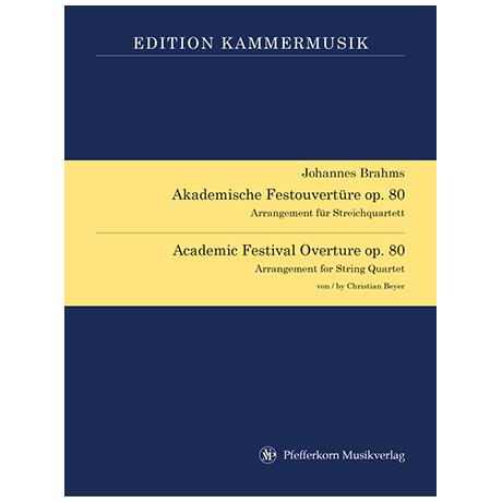 Brahms, J.: Akademische Festouvertüre Op. 80 c-Moll