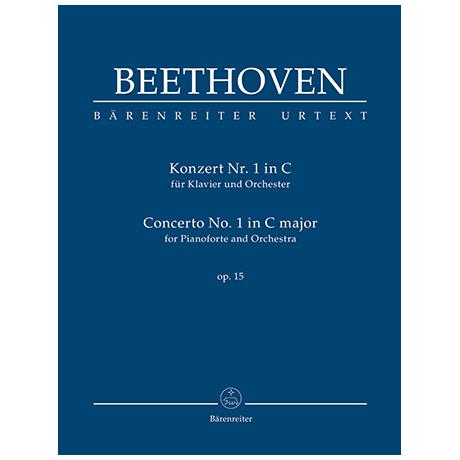 Beethoven, L. v.: Konzert für Klavier und Orchester Nr. 1 C-Dur Op. 15