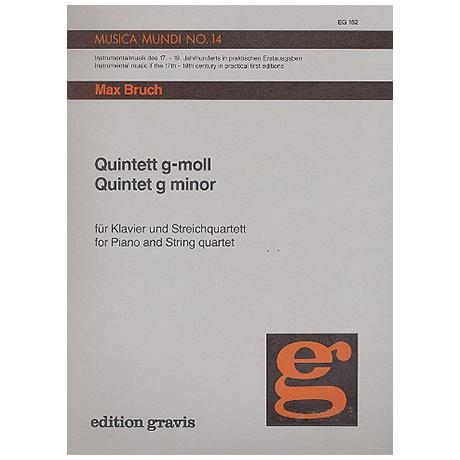 Bruch, M.: Klavierquintett g-Moll