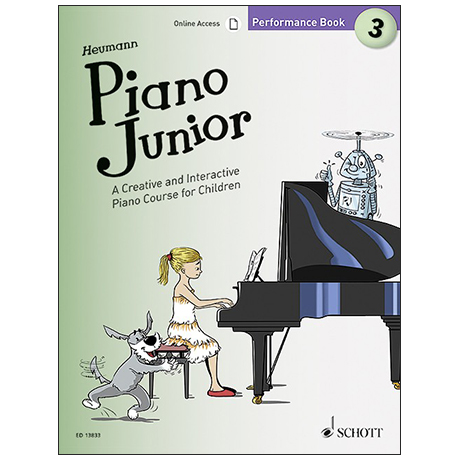 Heumann, H.-G.: Piano Junior –  Performance Book 3