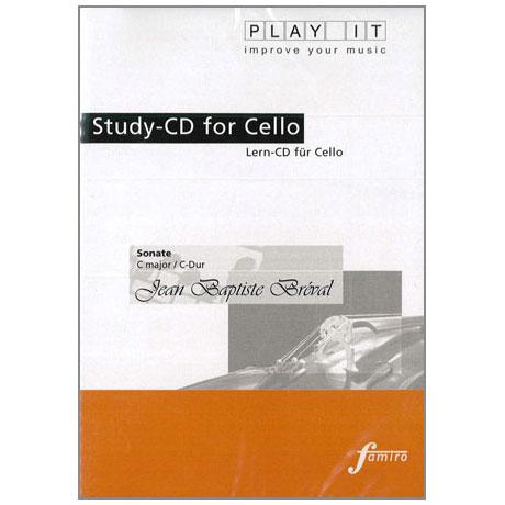 Bréval, J. B.: Violoncellosonate C-Dur (nur CD)
