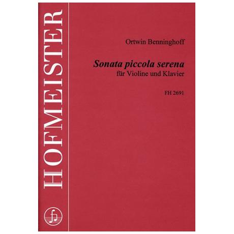 Benninghoff, O.: Sonata piccola serena