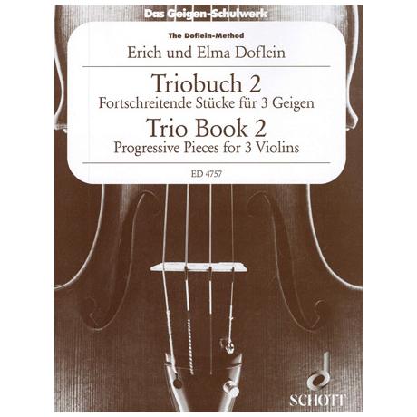 Doflein: Das Geigen-Schulwerk Triobuch Band 2