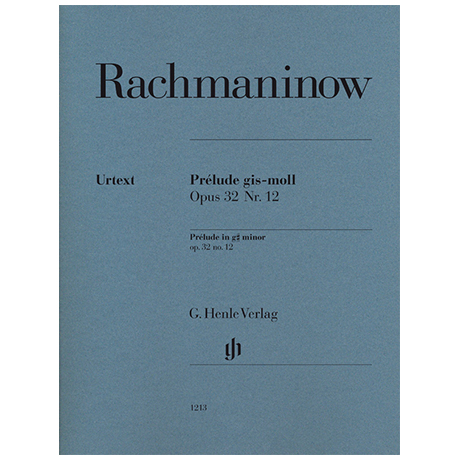 Rachmaninow, S.: Prélude Op. 32 No.12 g sharp minor