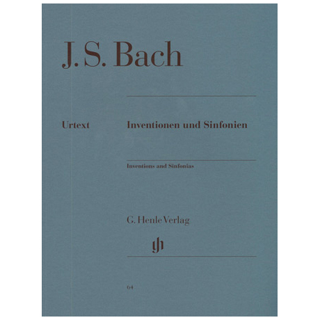 Bach, J. S.: Inventionen und Sinfonien BWV 772 – 801