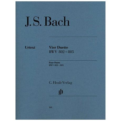 Bach, J. S.: Vier Duette BWV 802-805