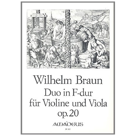 Braun, W.: Duo F-Dur Op.20