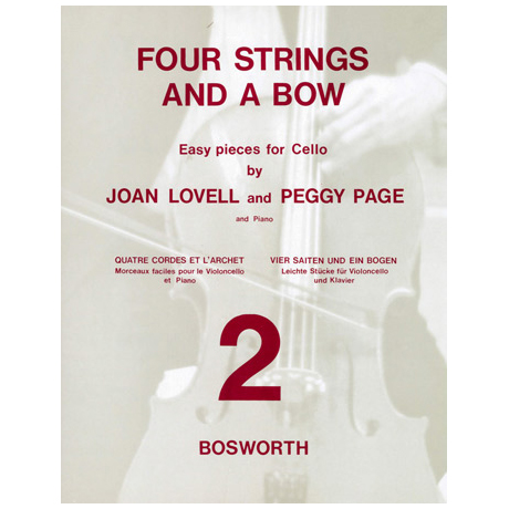 Lovell, J.: Four strings and a bow Vol. 2