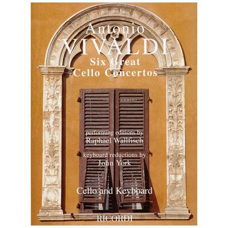 Vivaldi, A.: 6 Violoncellokonzerte
