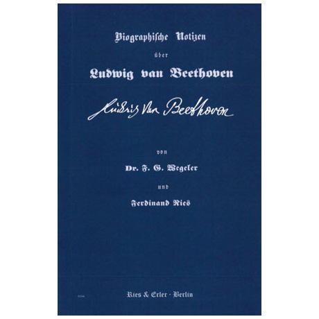 Biographische Notizen über Ludwig van Beethoven