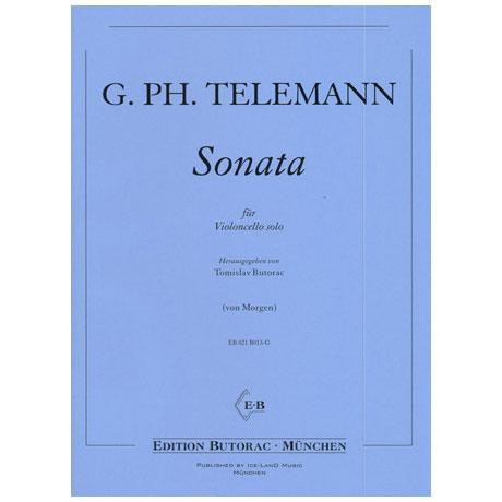 Telemann, G.P.: Sonate D-Dur für Viola da gamba