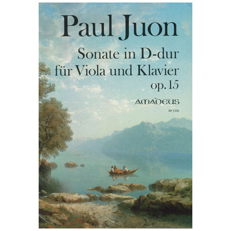 Juon, P.: Violasonate D-Dur