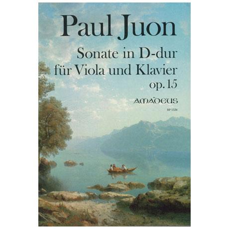 Juon, P.: Violasonate D-Dur