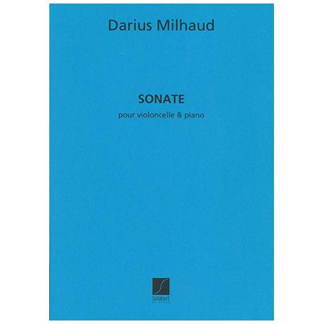 Milhaud, D.: Sonate Op. 377 (1959)