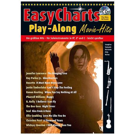 Easy Charts Play-Along Sonderband 1: Movie Hits! (+CD)