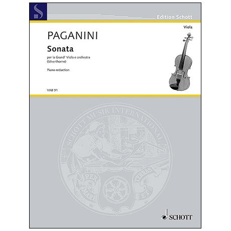 Paganini, N.: Violasonate »per la Grand' Viola«