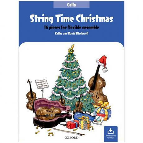 Blackwell, K. & D.: String Time Christmas – Cello (+Online Audio)