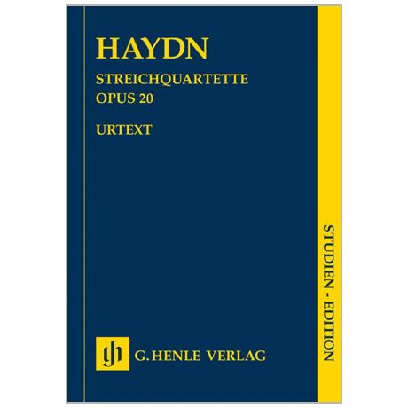 Haydn, J.: Streichquartette Op. 20/1-6 »Sonnenquartette«