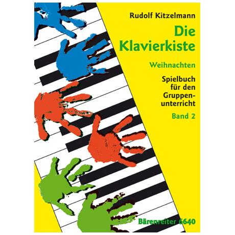 Kitzelmann, R.: Die Klavierkiste Band 2: Weihnachten