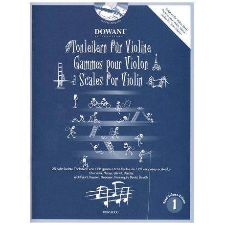 Tonleitern (+2 CD's) Band 1