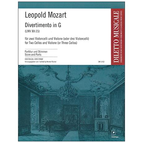 Mozart, L.: Divertimento LMV XII:15 G -Dur
