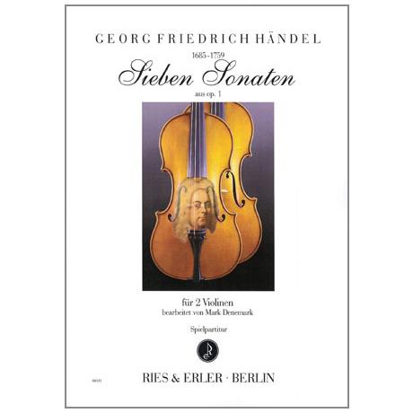 Händel, G. F.: 7 Sonaten aus Op. 1