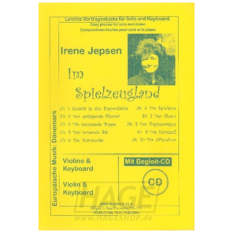 Jepsen, I.: Im Spielzeugland (+CD)