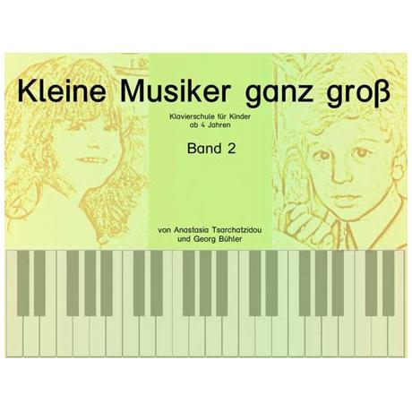 Kleine Musiker ganz groß Band 2 (+CD)
