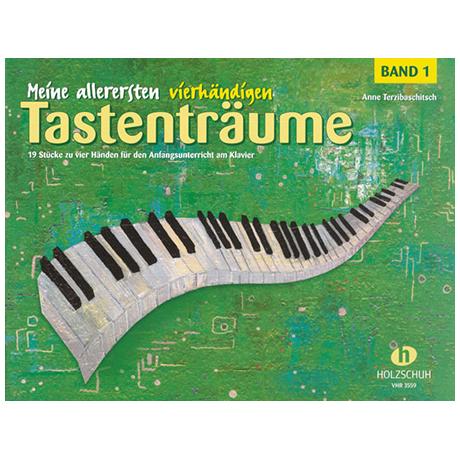 Terzibaschitsch, A.: Meine allerersten vierhändigen Tastenträume Band 1