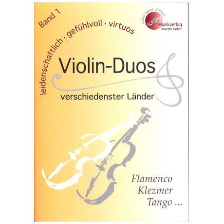 Violin-Duos verschiedenster Länder Band 1