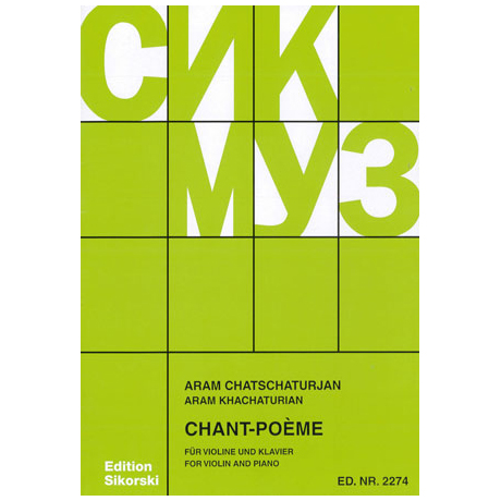Chatschaturjan, A.: Chant-Poeme