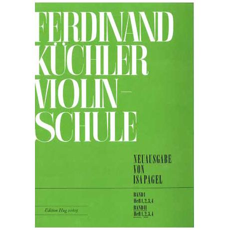 Küchler, F.: Violinschule Band 2 Teil 2