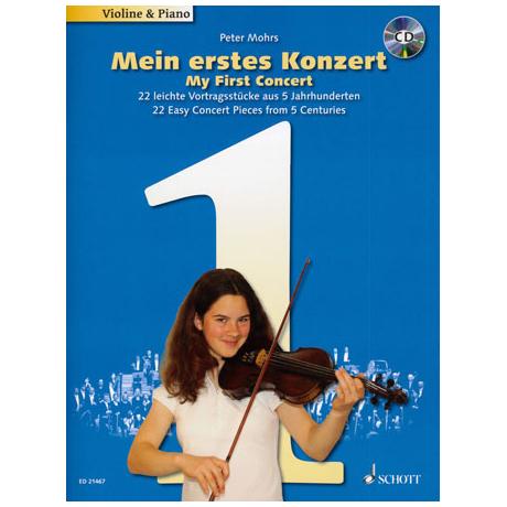 Mohrs, P.: Mein erstes Konzert (+CD)