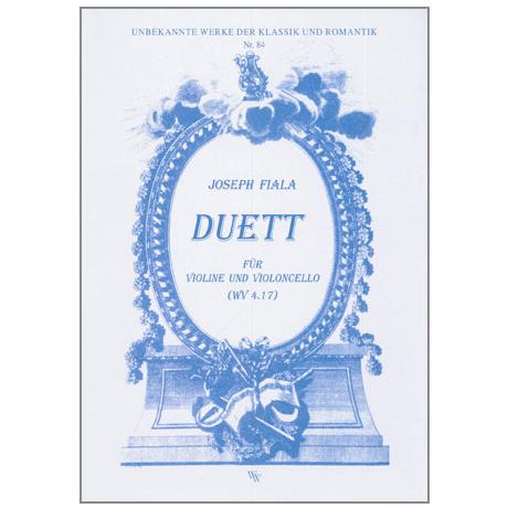 Fiala, J.: Duett WV4.17