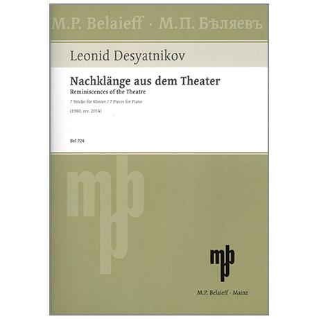 Desyatnikov, L.: Nachklänge aus dem Theater