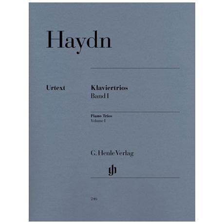 Haydn, J.: Klaviertrios Band 1, Hob XV: 1, 2, 34-38, 40, 41 Urtext