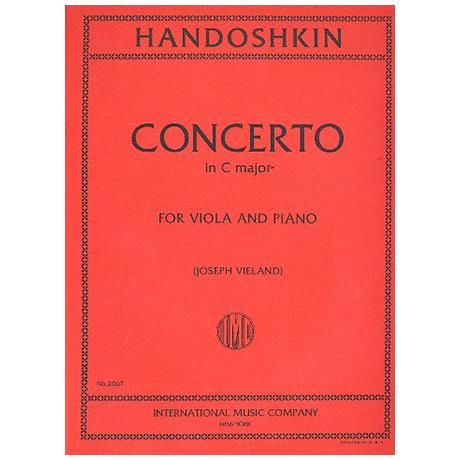 Chandoschkin, I.: Concerto C-Dur