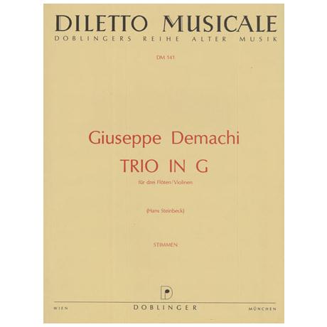 Demachi, G.: Trio in G-Dur
