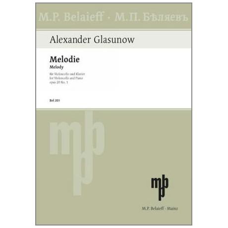 Glasunow, A.: Melodie Op.20 Nr.1